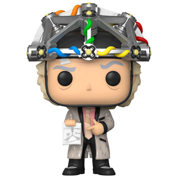 Figura POP Back To The Future Doc with Helmet