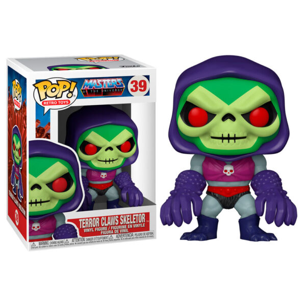 Figura POP Masters of the Universe Skeletor with Terror Claws