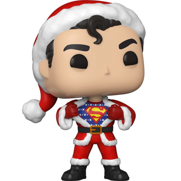 Figura POP DC Holiday Superman with Sweater