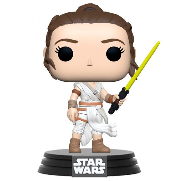 Figura POP Star Wars The Rise of Skywalker Rey with Yellow Saber