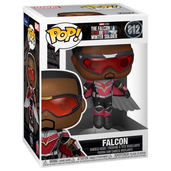 Figura POP Marvel The Falcon and The Winter Soldier Falcon Flying Pose