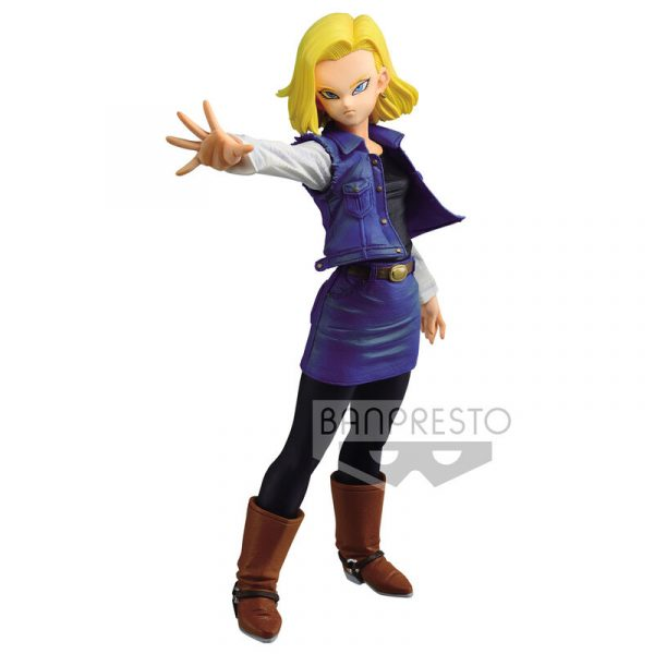 Figura Android 18 Match Makers Dragon Ball Z 18cm