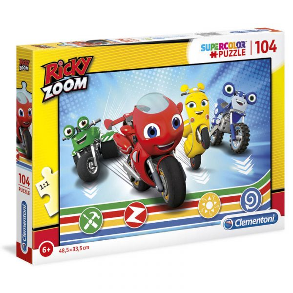 Puzzle Ricky Zoom 104pzs